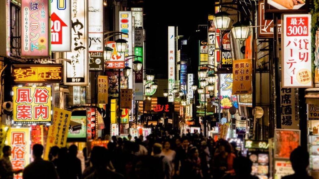 Night Shopping in Shinjuku