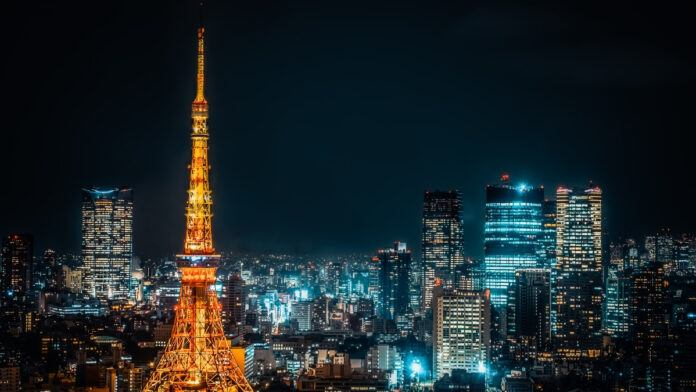 View of Tokyo Tower - Night time