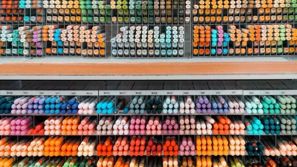 Tokyu Hands Pastel Pens
