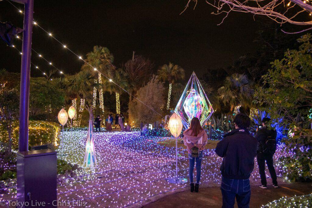 Enoshima Illumination Date Spot