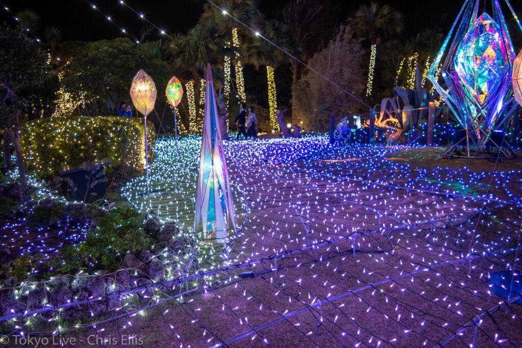 Enoshima Illumination 2019 grass