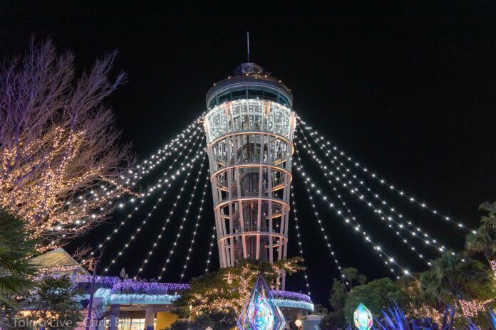 Enoshima Illumination Candle Tower