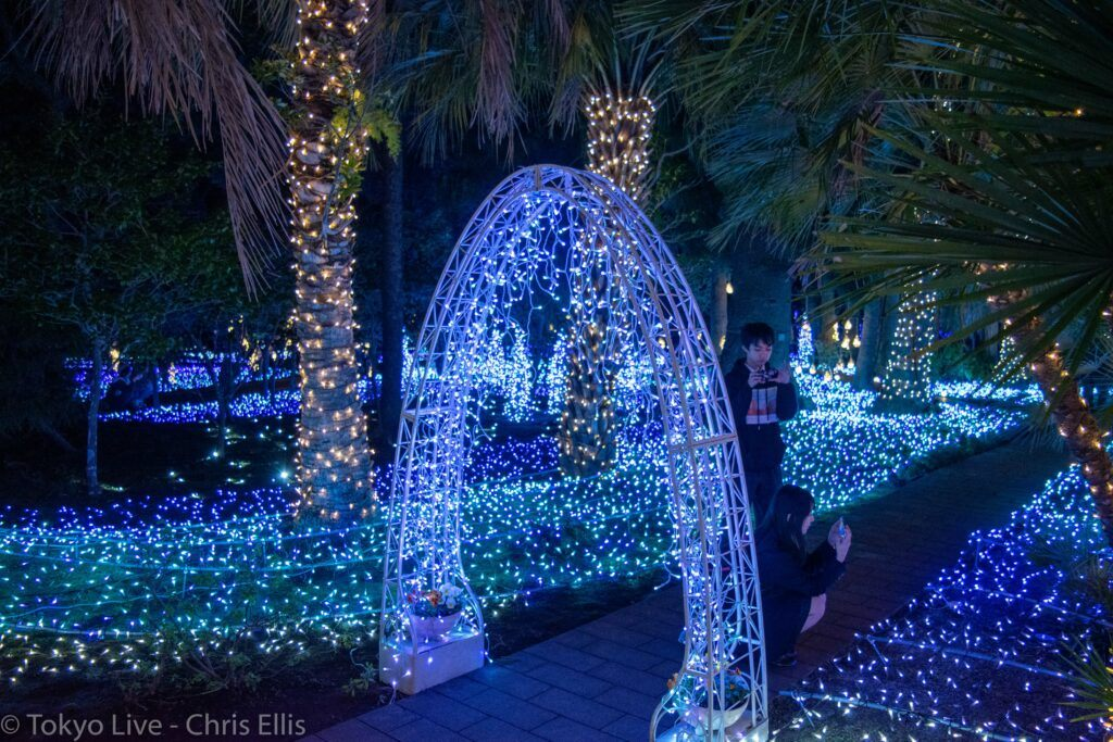 Enoshima Illumination Garden
