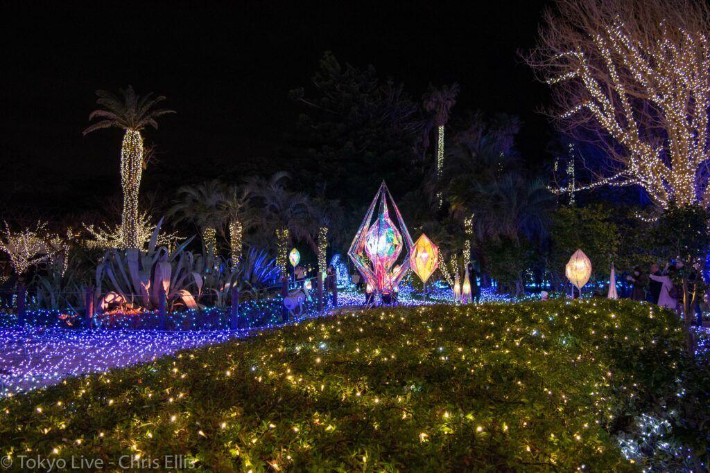 Enoshima Illumination Mirror Ball Garden