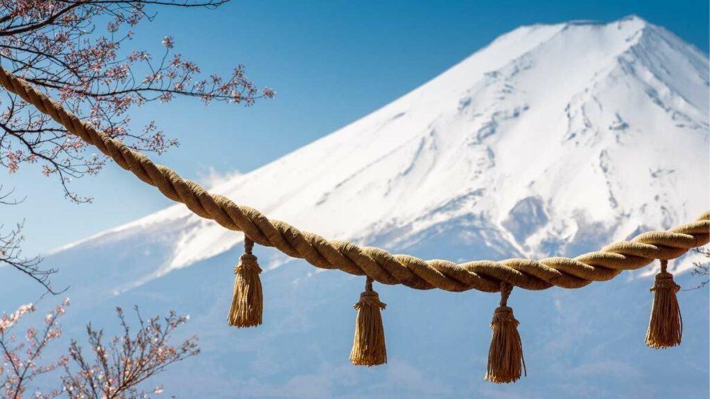 Children Friendly Ski Resorts Around Tokyo, a view of snow capped Mt. Fuji